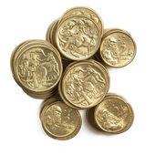 Австралийские монеты — Стоковое фото