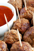 Meatballs Appetiser — Stock Photo