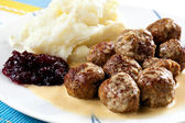 Swedish Meatballs — Stock Photo