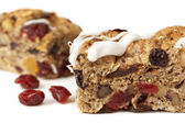 Cranberry Snack Bar — Stock Photo