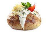 Baked Potato — Stock fotografie