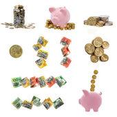 Australian Money Collection — Stock Photo