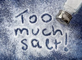 Too Much Salt — Foto de Stock