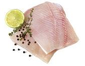 Raw Fish Fillets — Stock Photo