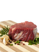 Raw Beef Steak — Stock Photo