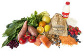Diabetes Superfoods — Stock Photo