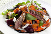 Warm Lamb Salad — Stock Photo