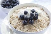 Blueberry Porridge — Stock Photo
