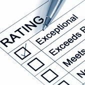 Excellent Rating — Stock Photo