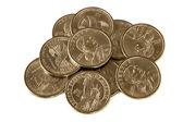 Dollar Coins — Stock Photo