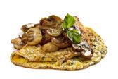 Mushroom Omelette — Stock Photo