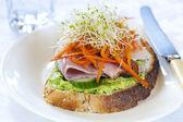 Open Sandwich — Stock Photo
