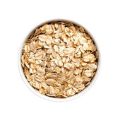 Oats (with Path) — 图库照片