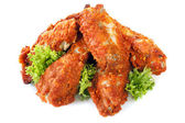 Spicy Chicken Wings — Stock Photo