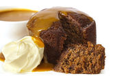 Sticky Date Pudding — Stock Photo