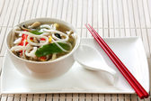 Udon Noodle Soup — Stock Photo