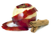 Apple and Cinnamon — Stock Photo
