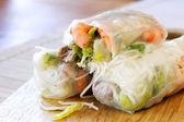 Rice Paper Rolls — Stock Photo