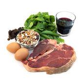 Iron-Rich Foods — Stock Photo