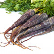Purple Carrots - Stock Photo