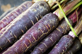 Purple Carrots — Stock Photo