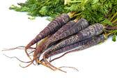 Purple Carrots — Stock Photo