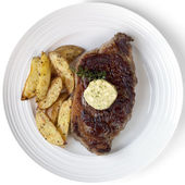 Rib-Eye Steak — Stock Photo