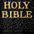 Holy Bible Macro — Stock Photo