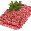minced meat&quot — Stock Photo