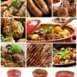 Beef Images Collage — Stock Photo