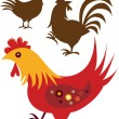 Chicken — Stock Vector