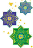 Islamic pattern — Stock Vector