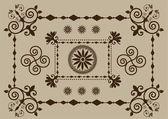 装飾アイテム — ストックベクタ