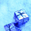 Stock Photo: Christmas gift box