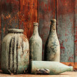 Old bottles — Foto de Stock