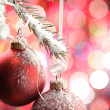Christmas balls — Stock Photo #5644650