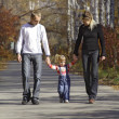 Stock Photo: Household walks