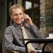 Businessman in deal — Stock Photo