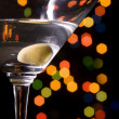 Martini glass — Stock Photo