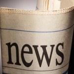noviny — Stock fotografie