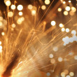 Abstract sparkler — Photo