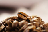 Hoop van korrels van koffie — Stockfoto