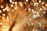 Abstract sparkler — Stock Photo