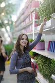 Beauty woman shopiping — Stock Photo