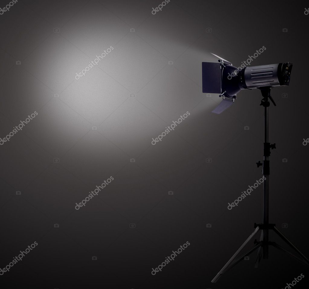Studio Spot Light — Stock Photo #5645531
