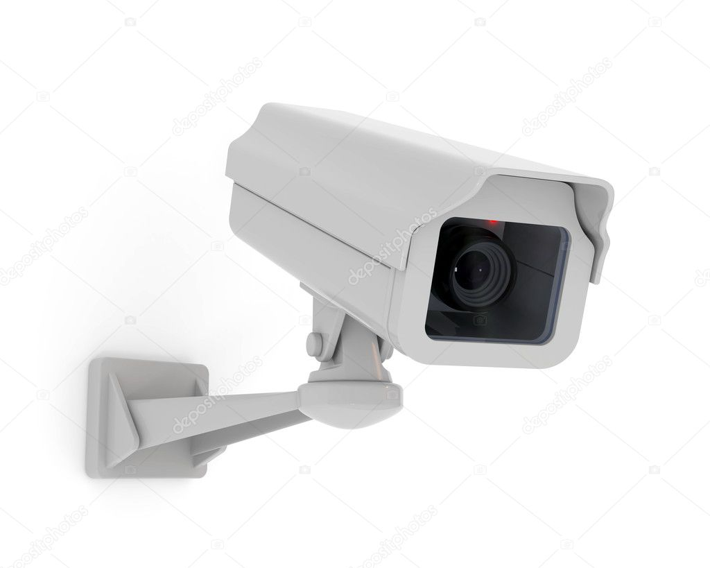Security camera — Stock Photo #5490334