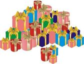 Large pile of gifts — Stock Vector