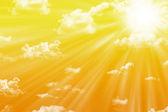 Warm sun — Stock Photo