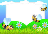 Biene-gästebuch — Stockfoto
