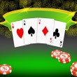 Poker background — Stock Photo #5511435